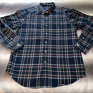 POLO Ralph Lauren Forest Green/Navy Plaid Shirt